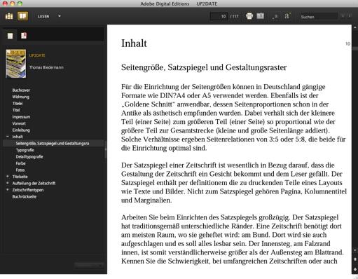 Thomas Biedermann: UP2DATE –Das Brevier zur Gestaltung von Zeitschriften