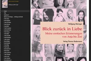 Wolfgang Weniger: Blick zurück in Liebe