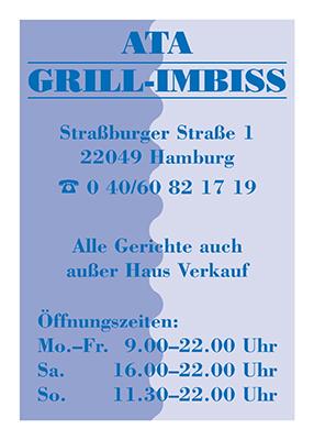 Titel Ata-Grill-Imbiss-Flyer