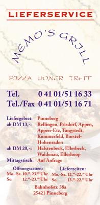 Titel Memo's-Flyer