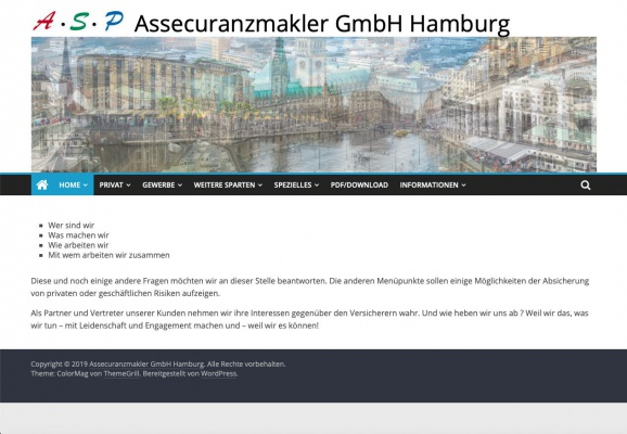 ASP Hamburg Home
